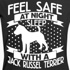 Feel safe at night - Jack Russell Terrier T-Shirts