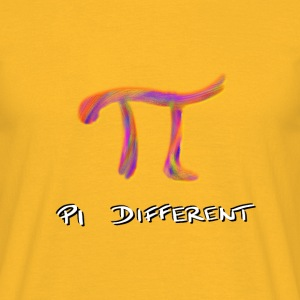 PI different T-Shirts - Männer T-Shirt
