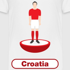 Croatia football - Kids' Premium T-Shirt