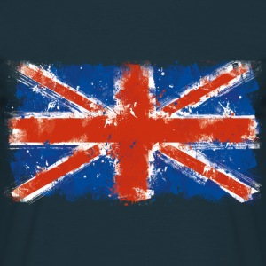 Blue Union Jack - Männer T-Shirt
