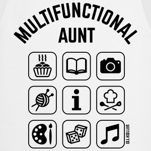 Multifunctional Aunt (9 Icons)  Aprons - Cooking Apron