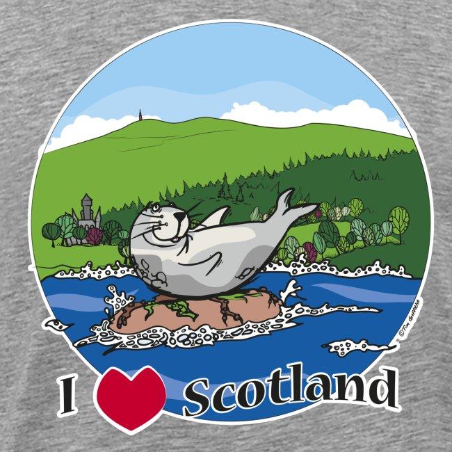 I love Scotland (Grey)
