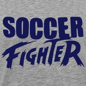 soccer fighter Tee shirts - T-shirt Premium Homme