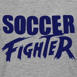 soccer fighter Manga larga - Camiseta de manga larga premium hombre