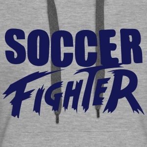soccer_fighter Hoodies & Sweatshirts - Women's Premium Hoodie