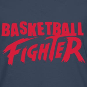 basketball fighter Manga larga - Camiseta de manga larga premium hombre