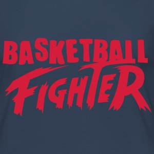 basketball fighter Manga larga - Camiseta de manga larga premium mujer