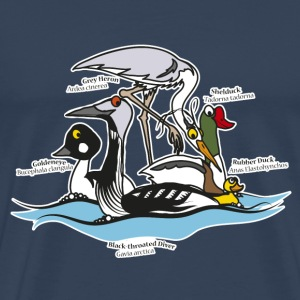 Birds of a Feather - Men's Premium T-Shirt