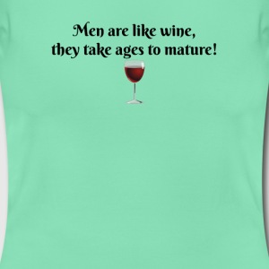 Men & Wine - Women's T-Shirt