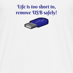 Remove USB - Men's T-Shirt