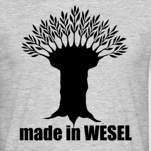 made in Wesel - Männer T-Shirt