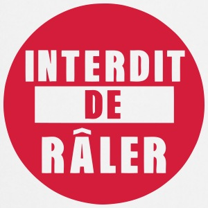 interdit de raler citation expression Tabliers - Tablier de cuisine