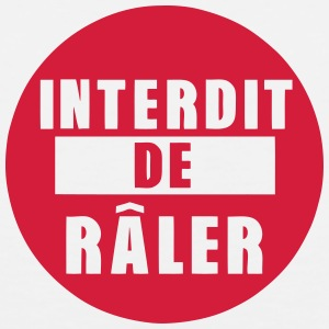 interdit de raler citation expression Vêtements de sport - Débardeur Premium Homme