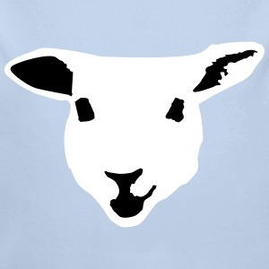 sheep, lamb Babybody - Økologisk langermet baby-body