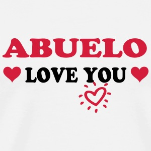 Abuelo love you T-Shirts - Men's Premium T-Shirt