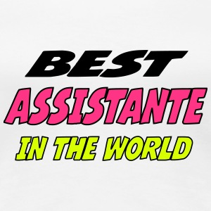 Best assistante in the world T-Shirts - Women's Premium T-Shirt