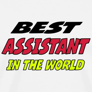 Best assistant in the world T-Shirts - Men's Premium T-Shirt