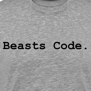 Beasts Code. - Men's Premium T-Shirt