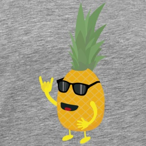 Heavy metal pineapple T-Shirts - Men's Premium T-Shirt