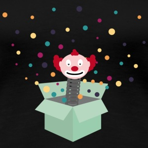 clown in a box T-Shirts - Women's Premium T-Shirt