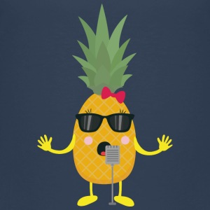 Singing pineapple Shirts - Kids' Premium T-Shirt