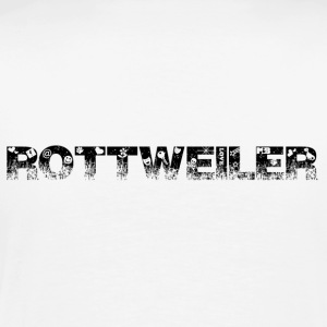Rottweiler Outside T-shirts - Mannen Premium T-shirt