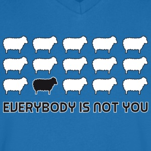 everybody is not you T-shirts - Herre T-shirt med V-udskæring