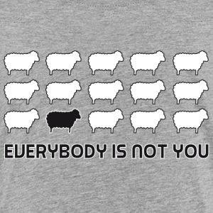 everybody is not you Skjorter - Premium T-skjorte for barn