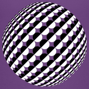 Optical Illusion Sphere Boys - Teenage Premium T-Shirt