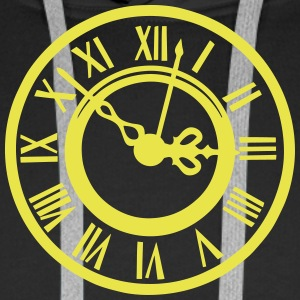 Old clock 2103 Hoodies & Sweatshirts - Men's Premium Hoodie