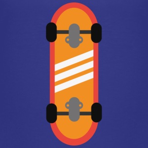 Orange skateboard Shirts - Kinderen Premium T-shirt
