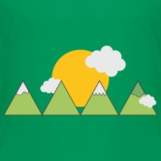 Mountain landscape Shirts