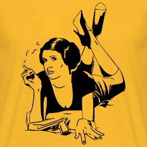 Pulp Fiction meets Leia from Start Wars Shirt - Männer T-Shirt