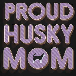 Proud Husky Mom Shirts - Teenage Premium T-Shirt