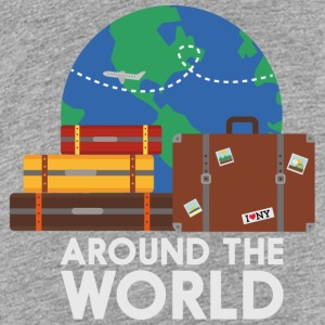 Around the world Shirts - Teenage Premium T-Shirt