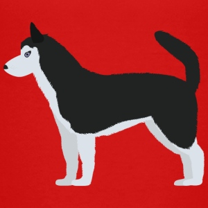 Siberian Husky Shirts - Teenage Premium T-Shirt
