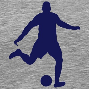 Football player shoot 2103 T-Shirts - Men's Premium T-Shirt