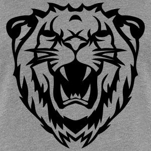 Lion roar tribal 2103 T-Shirts - Women's Premium T-Shirt