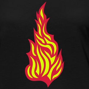 Flame fire 21032 Long Sleeve Shirts - Women's Premium Longsleeve Shirt