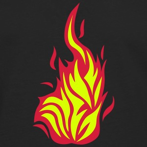 Flame fire 2103 Long sleeve shirts - Men's Premium Longsleeve Shirt