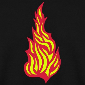 Flame fire 21032 Hoodies & Sweatshirts - Men's Sweatshirt