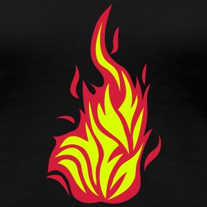 Flame fire 2103 T-Shirts - Women's Premium T-Shirt