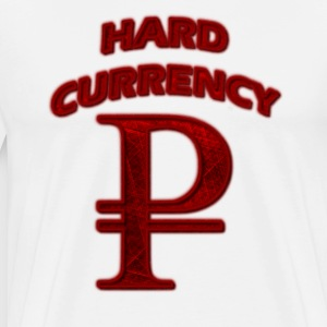 Hard Currency Rubel red T-Shirts - Männer Premium T-Shirt