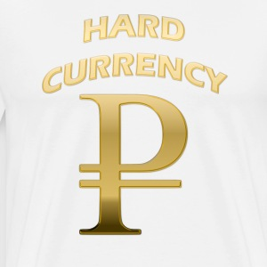 Hard Currency Rubel Gold 2 T-Shirts - Männer Premium T-Shirt