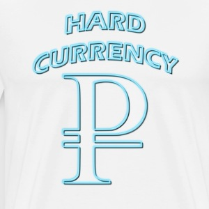 Hard Currency Rubel neon T-Shirts - Männer Premium T-Shirt