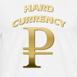 Hard Currency Rubel Gold T-Shirts - Männer Premium T-Shirt