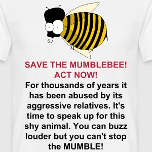 Save the MUMBLEbee - Men's T-Shirt