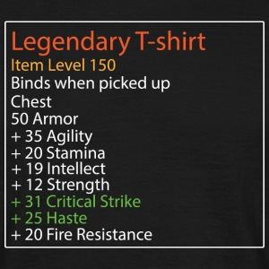 Legendary Shirt - Men's T-Shirt