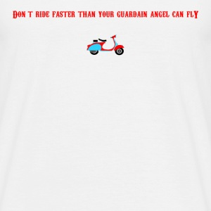 Guardain Angel Scooter - Men's T-Shirt