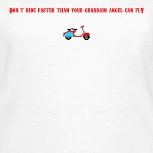 Guardain Angel Scooter - Women's T-Shirt